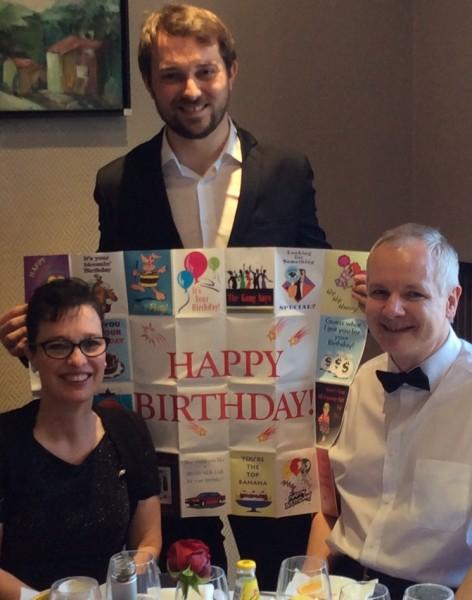 Hervé Troccaz, magicien close-up pour un anniversaire