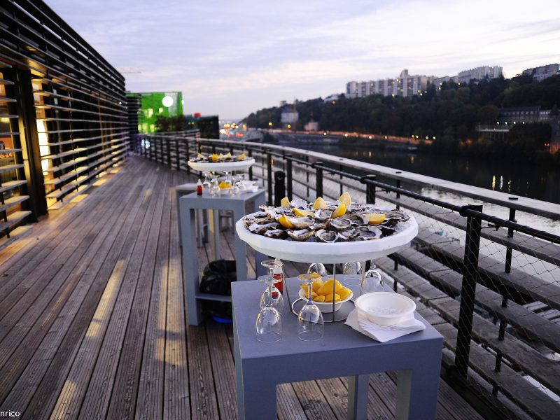 Rooftop 52 à Lyon, terrasse