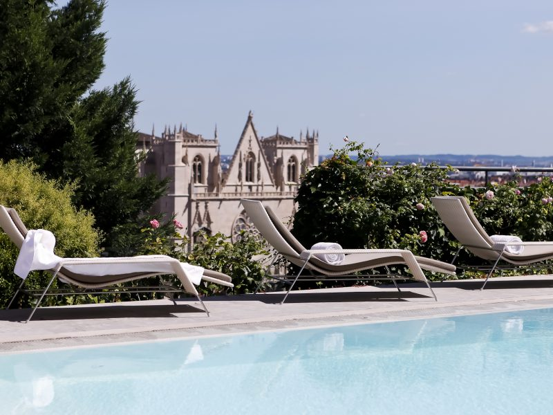 Villa Florentine Lyon : piscine