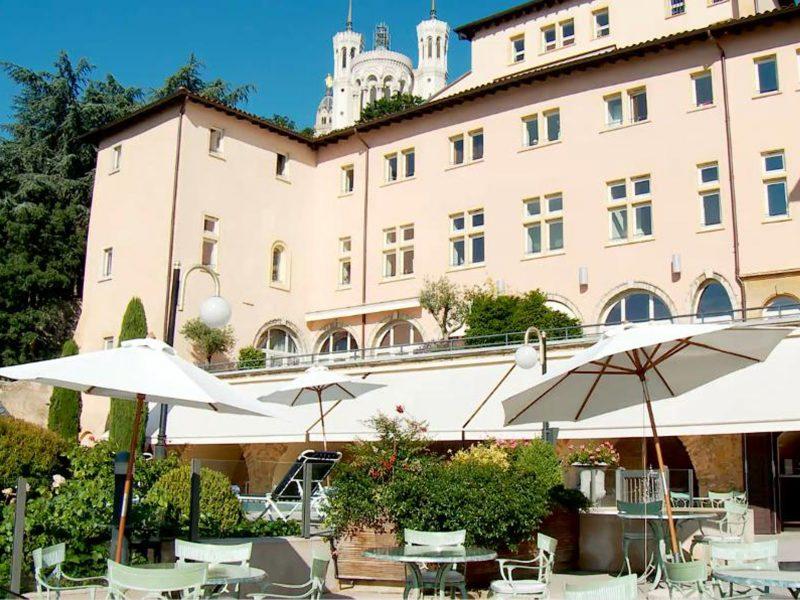 Villa Florentine Lyon : vue Fourvière
