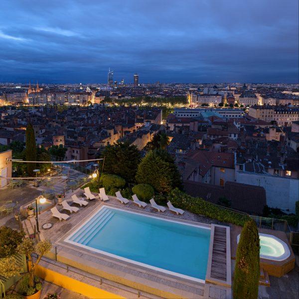 Villa Florentine Lyon : vue suite Lumière