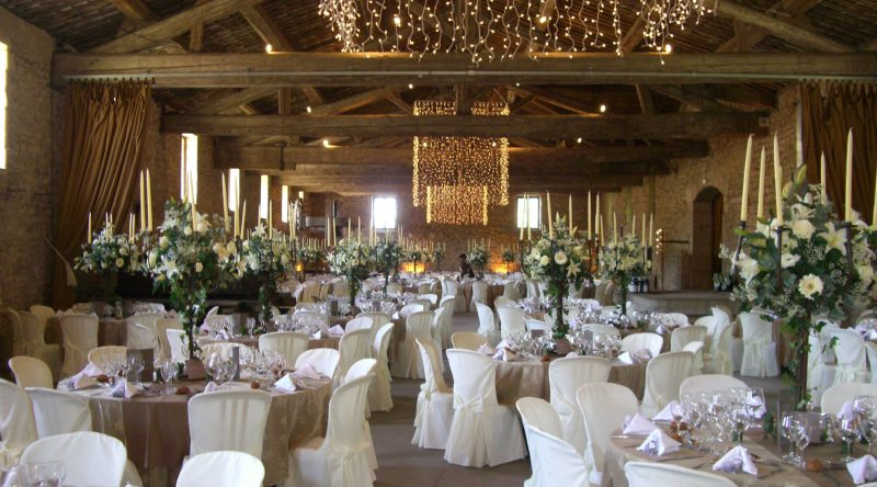 Château de Saint-Trys : le cuvage pour les mariages