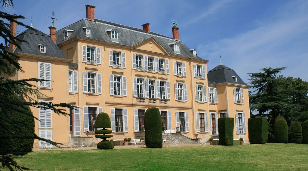 Château de Saint-Trys : la façade