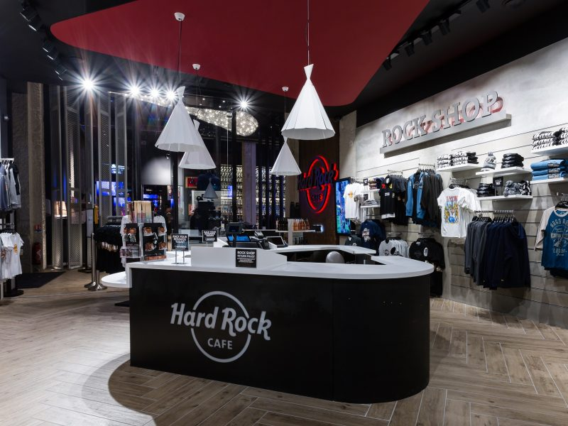 Hard Rock Café à Lyon : boutique