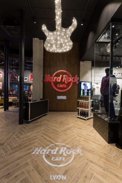 Hard Rock Café à Lyon