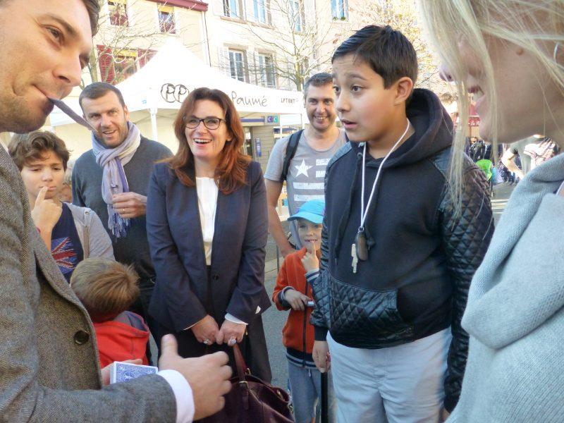 Magicien mentaliste à Chambéry : réactions