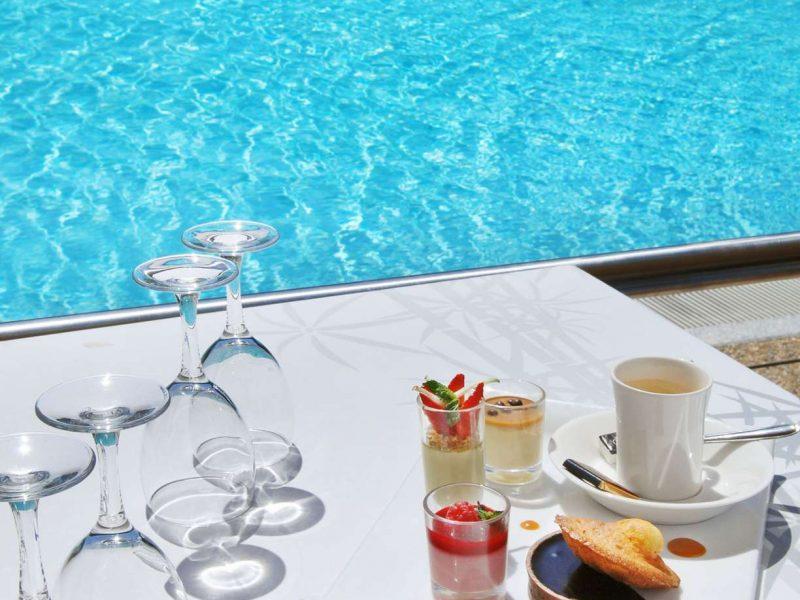 Hôtel Lyon Métropole : la piscine