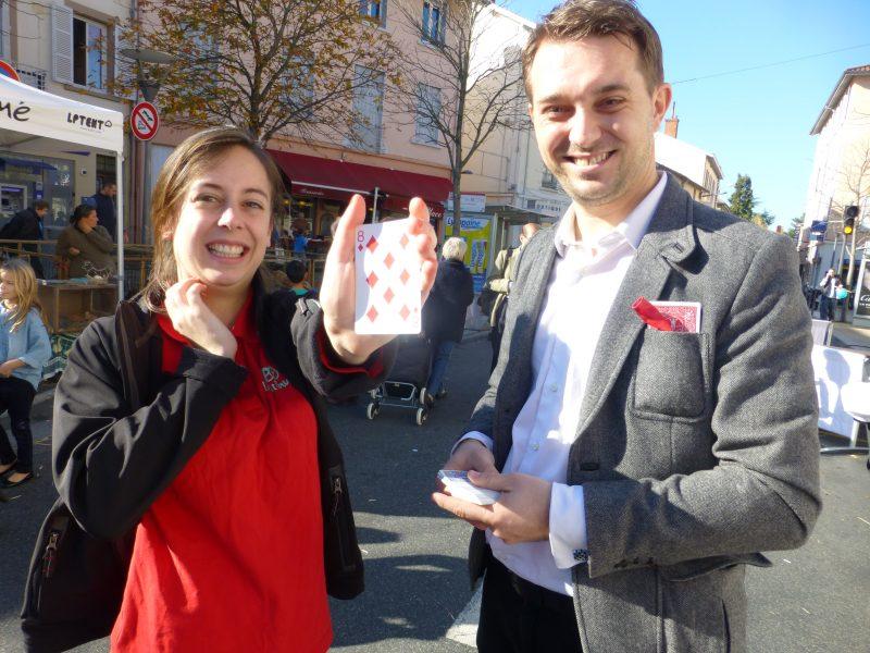 Magicien à Nice pour les repas d'entreprise