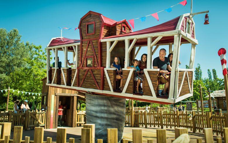 Volt-O-Vent, la maison volante des petits trappeurs / crédits photo : Benoît Gillardeau