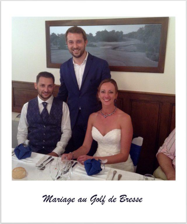 Magicien mentaliste pour un mariage au golf de la Bresse dans l'Ain
