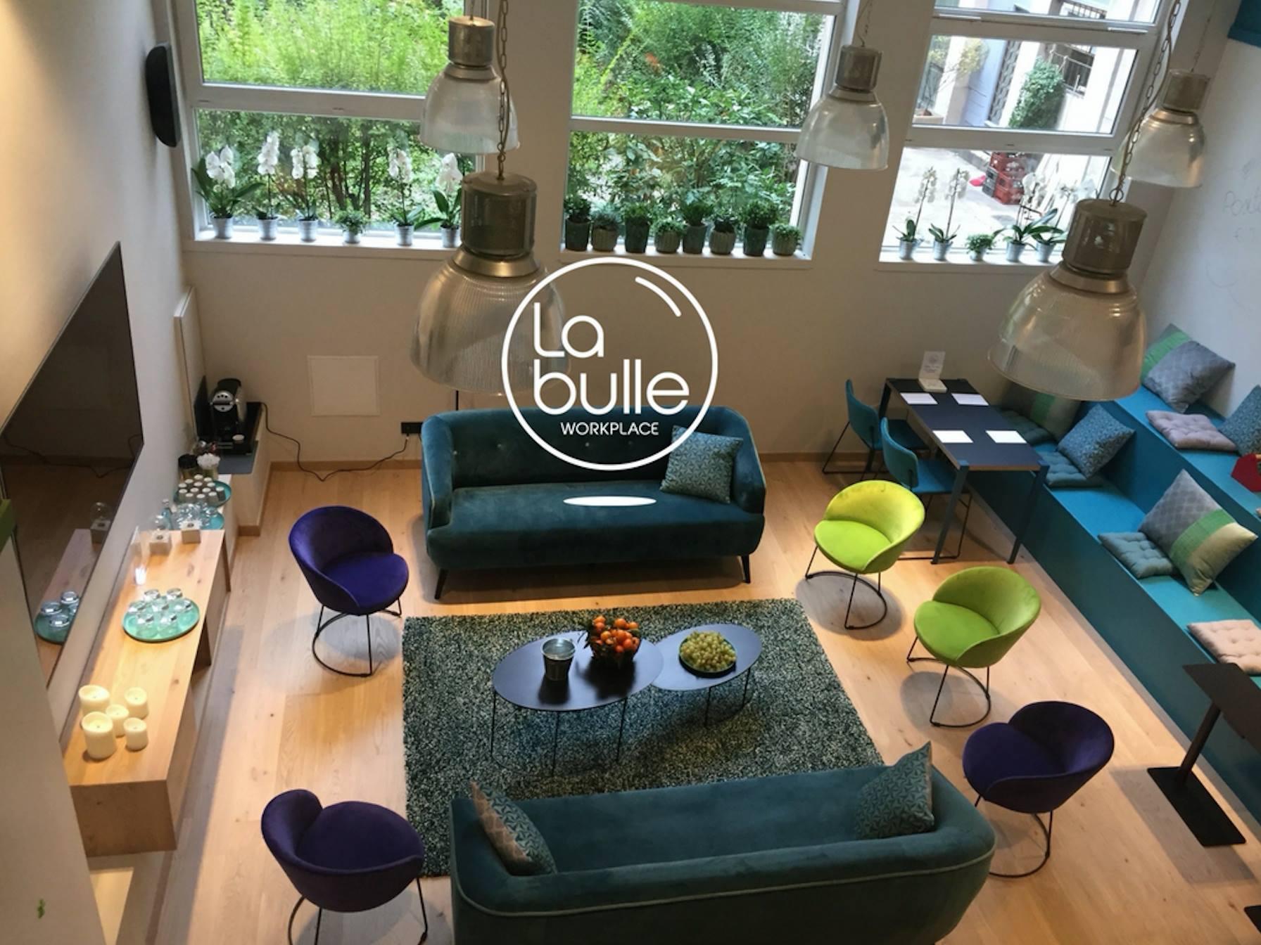 La Bulle Workplace Lyon / vue mezzanine