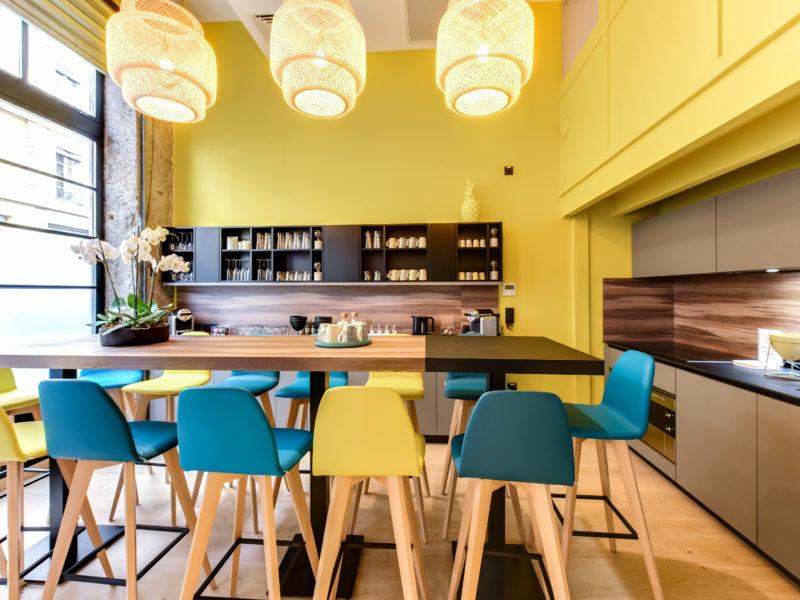 La Bulle Workplace Lyon / cuisine