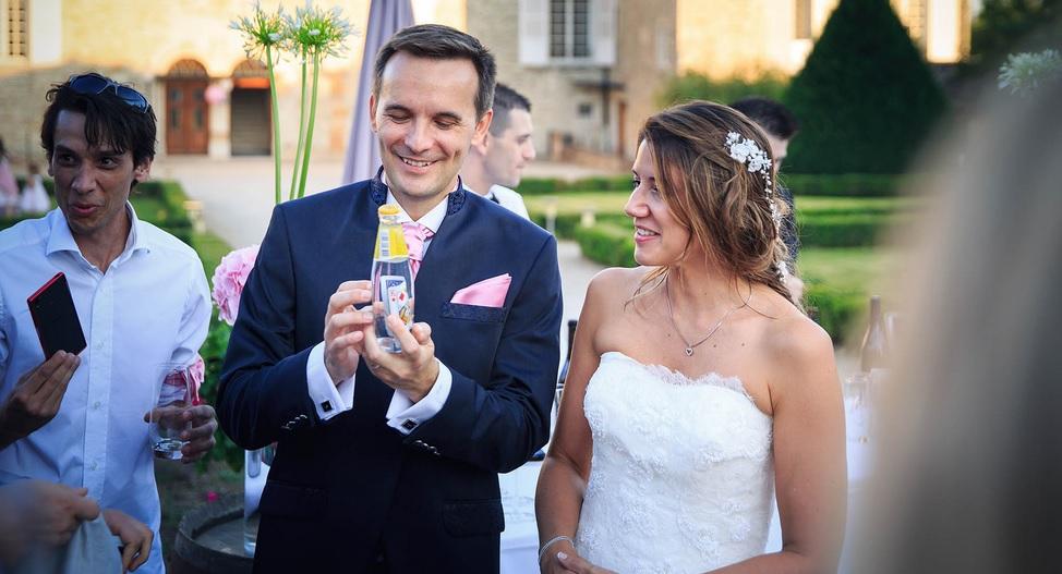 Magicien mariage