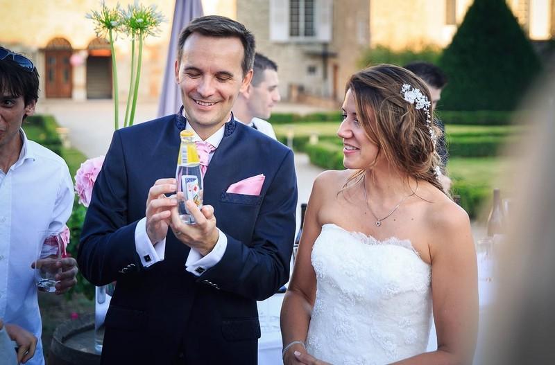 Magicien pour un mariage dans le Beaujolais