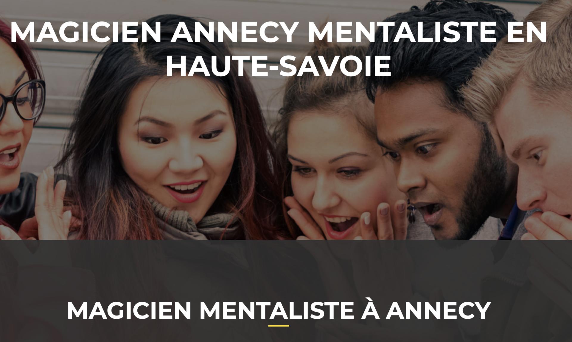 Magicien mentaliste à Annecy