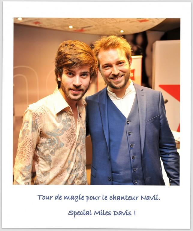 Magicien numérique sur iPad à Lyon pour Virgin Radio