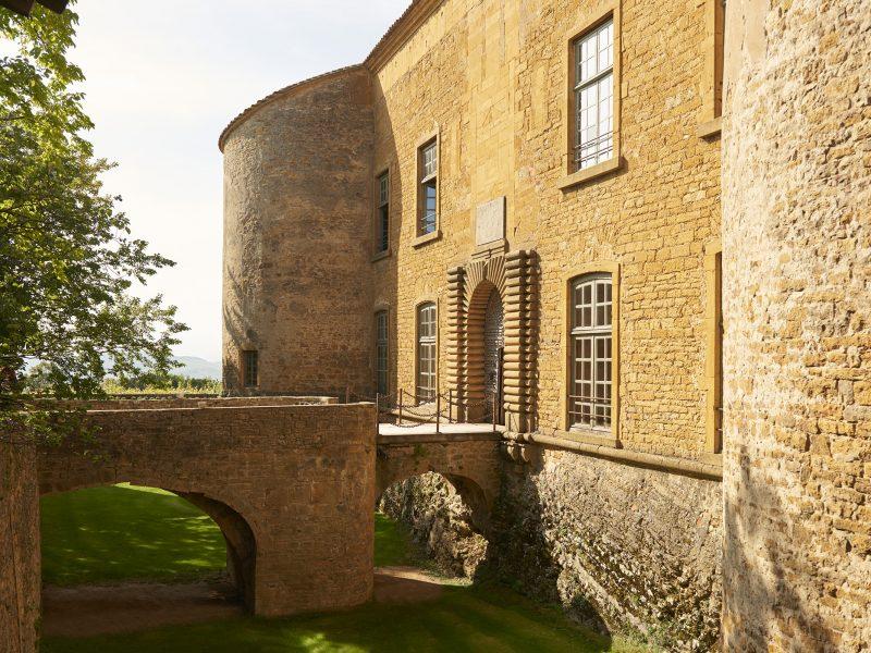 Château de Bagnols : la bâtisse