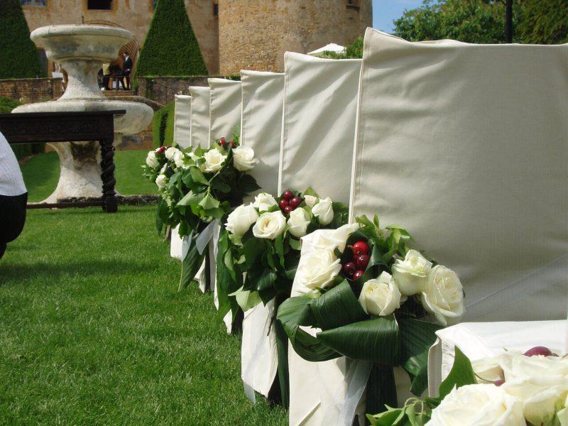 Château de Bagnols : mariage