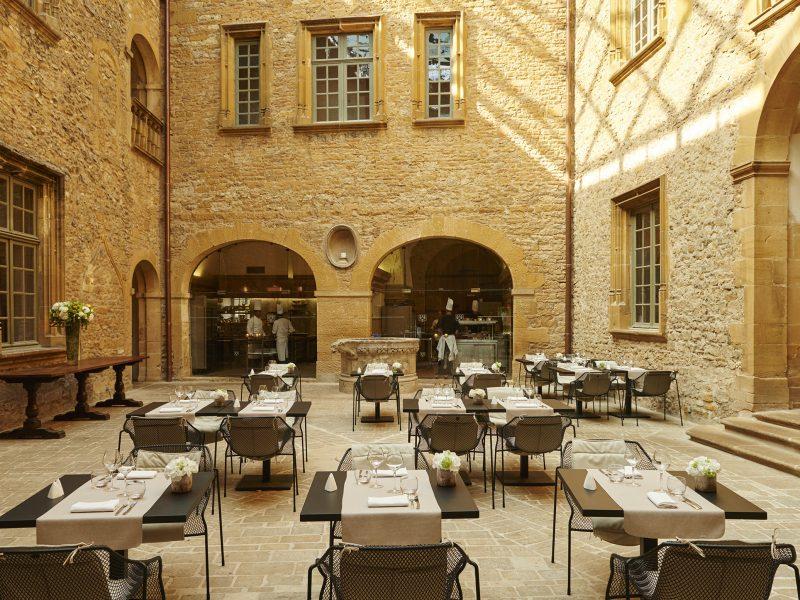 Château de Bagnols : restaurant