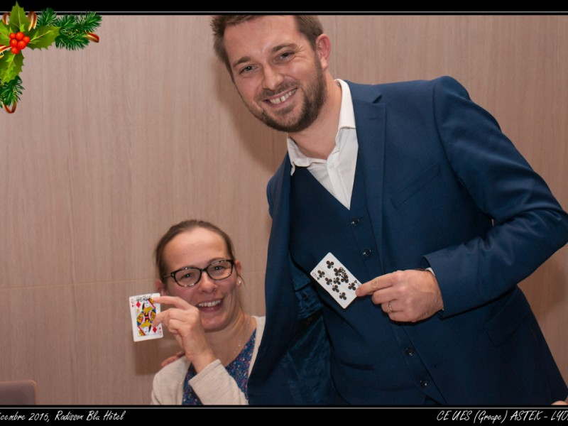 Illusionniste à Lyon au Radisson Blu