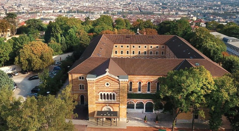 Fourvière Hôtel, vue aérienne
