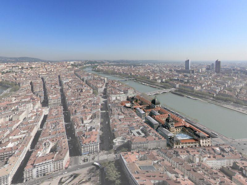 Grand Hôtel Dieu Lyon, perspective