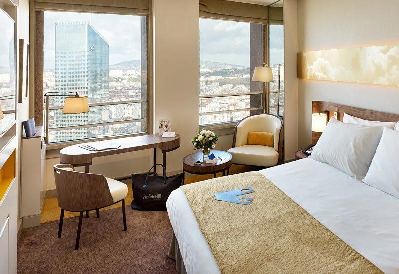 Radisson Blu Hôtel à Lyon : les chambres