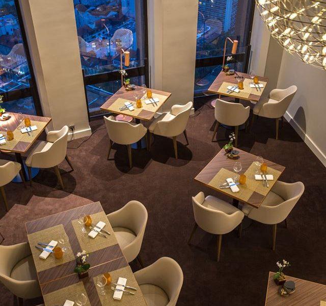Radisson Blu Hôtel à Lyon : le Celest restaurant