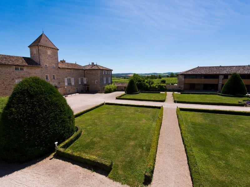 Château de Besseuil : les jardins