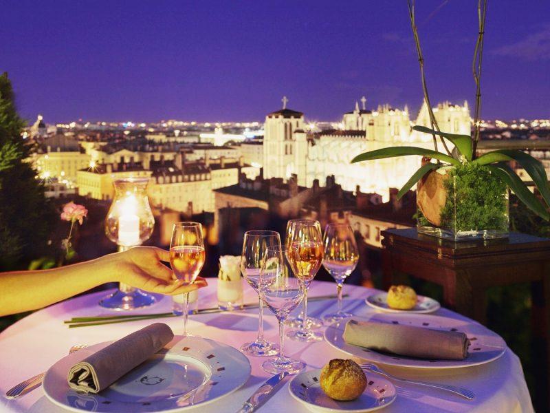 Villa Florentine : Diner Terrasse