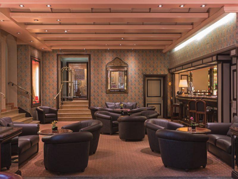 Villa Florentine : bar entrée