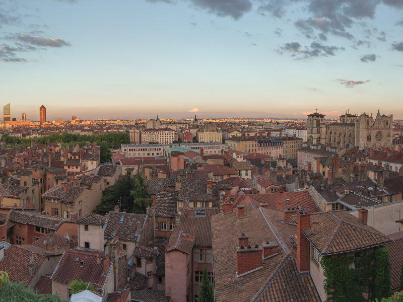 Villa Florentine Lyon : vue Lyon