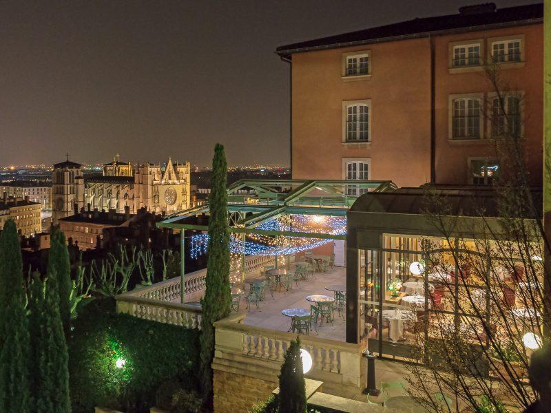 Villa Florentine Lyon : vue ensemble