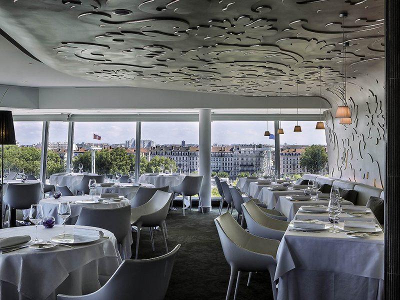 Hôtel Sofitel Lyon Bellecour : restaurant Les Trois Dômes
