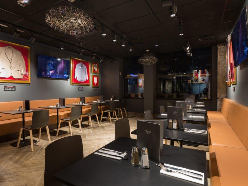 Hard Rock Café Lyon : décoration