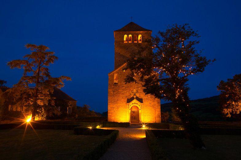 Château de Pierreclos, la chapelle
