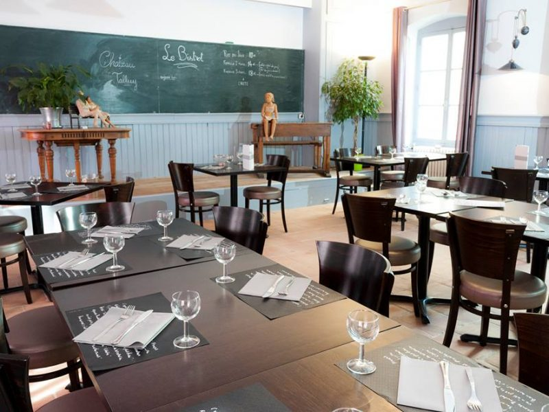 Château Talluy : le bistrot