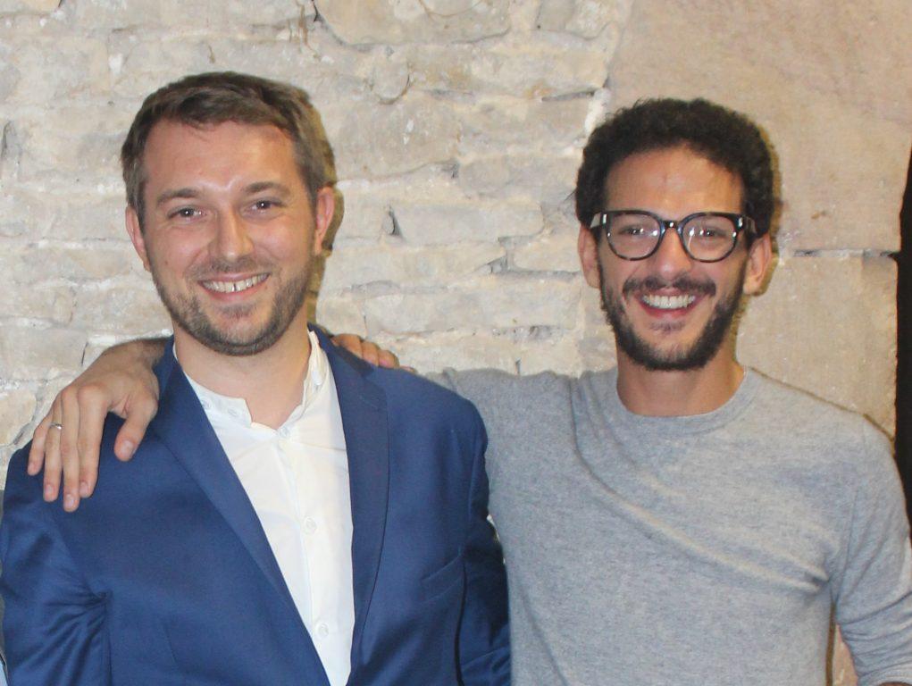 Vincent Dedienne et Hervé Troccaz, magicien mentaliste