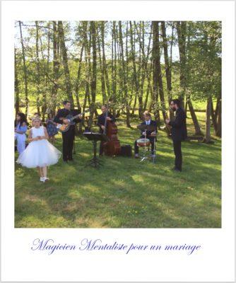 Magicien mentaliste pour un mariage dans la Côte Roannaise