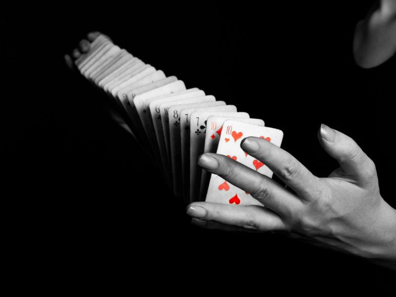 Magicien mentaliste à Clermont-Ferrand en Auvergne, cartes