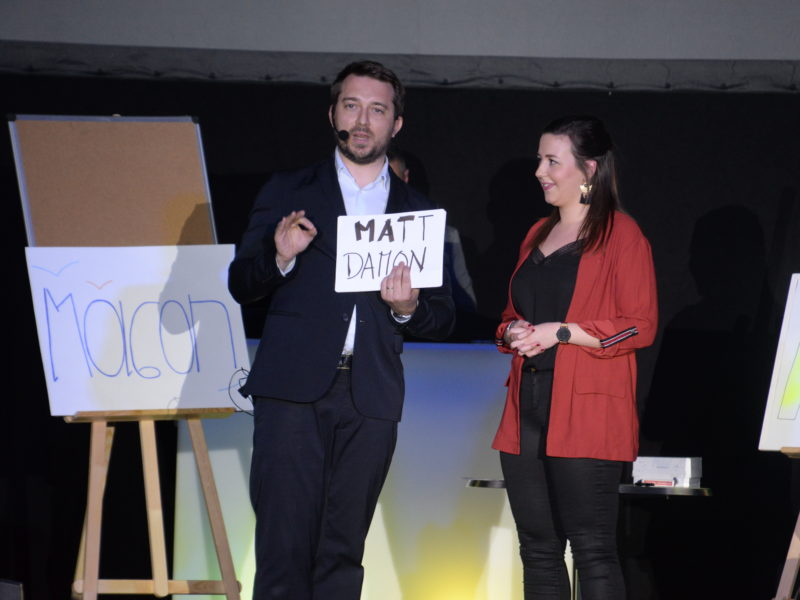 Magicien mentaliste à Mâcon pour le Fashion Show