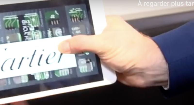 Magiciens iPad à Gstaad